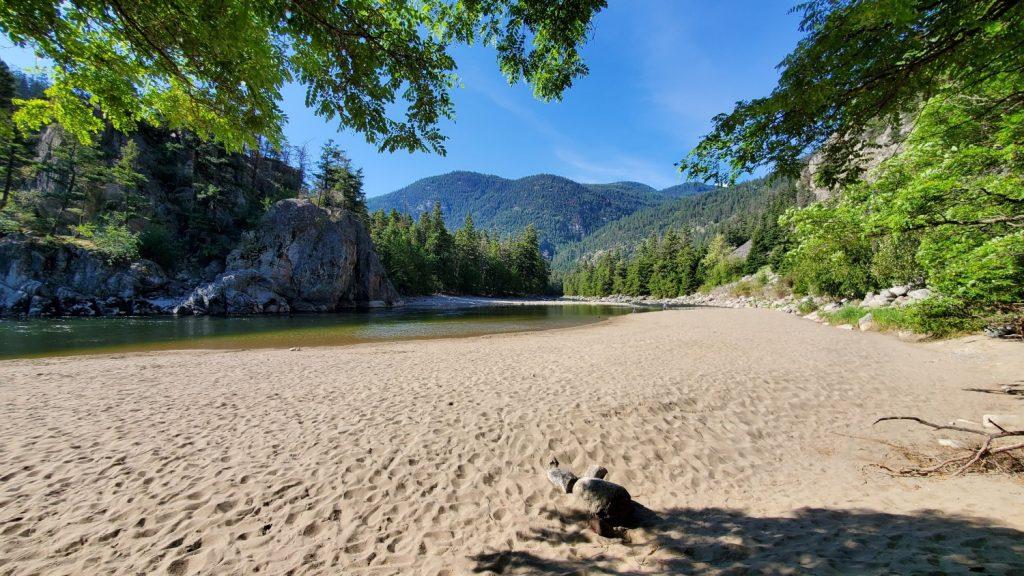 Bromley Rock Provincial Park Beach