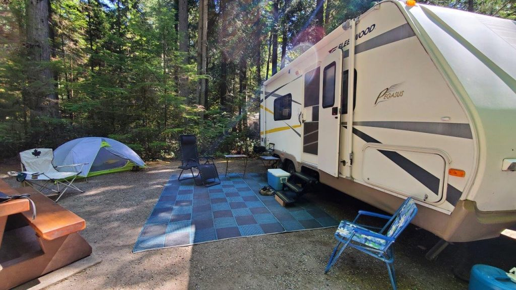 Porpoise Bay Provincial Park Campground