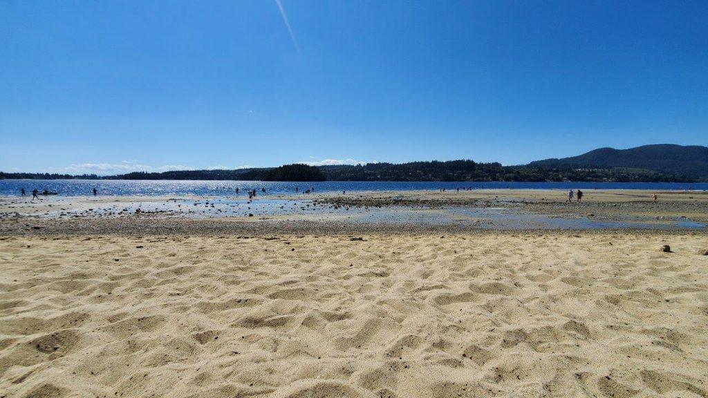 Porpoise Bay Provincial Park Sandy Beach